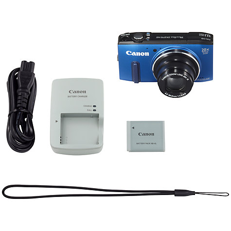 "Buy Canon PowerShot SX270 Camera, HD 1080p, 12.1MP, 20x Optical Zoom with 3"" LCD Screen Online at johnlewis.com"