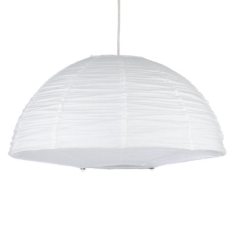 Buy House by John Lewis Easy-to-fit Trudy Paper Dome Ceiling Lamp, Dia.60cm Online at johnlewis.com