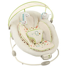 Buy Bright Starts Comfort and Harmony Bouncer, Sandstone Online at johnlewis.com