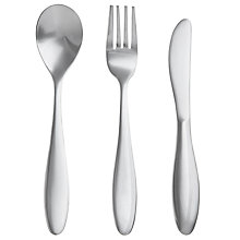 Buy John Lewis Baby Silver Plated Cutlery Set Online at johnlewis.com