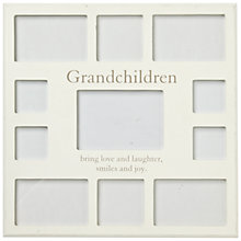 Buy John Lewis Grandchildren Collage Frame Online at johnlewis.com