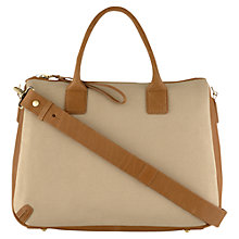 Buy Laura Bailey for Radley Blenehim Multiway Holdall Handbag, Tan Online at johnlewis.com