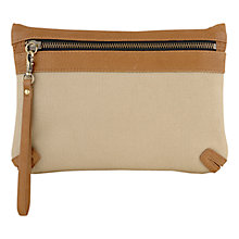 Buy Laura Bailey for Radley Trellick Clutch Bag, Tan Online at johnlewis.com