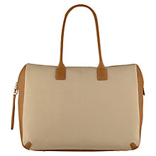 Buy Laura Bailey for Radley Phoenix Weekender Bag, Tan Online at johnlewis.com