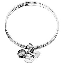 Buy Between You and I Personalised Photo Charm Bangles, 1 Charm Online at johnlewis.com