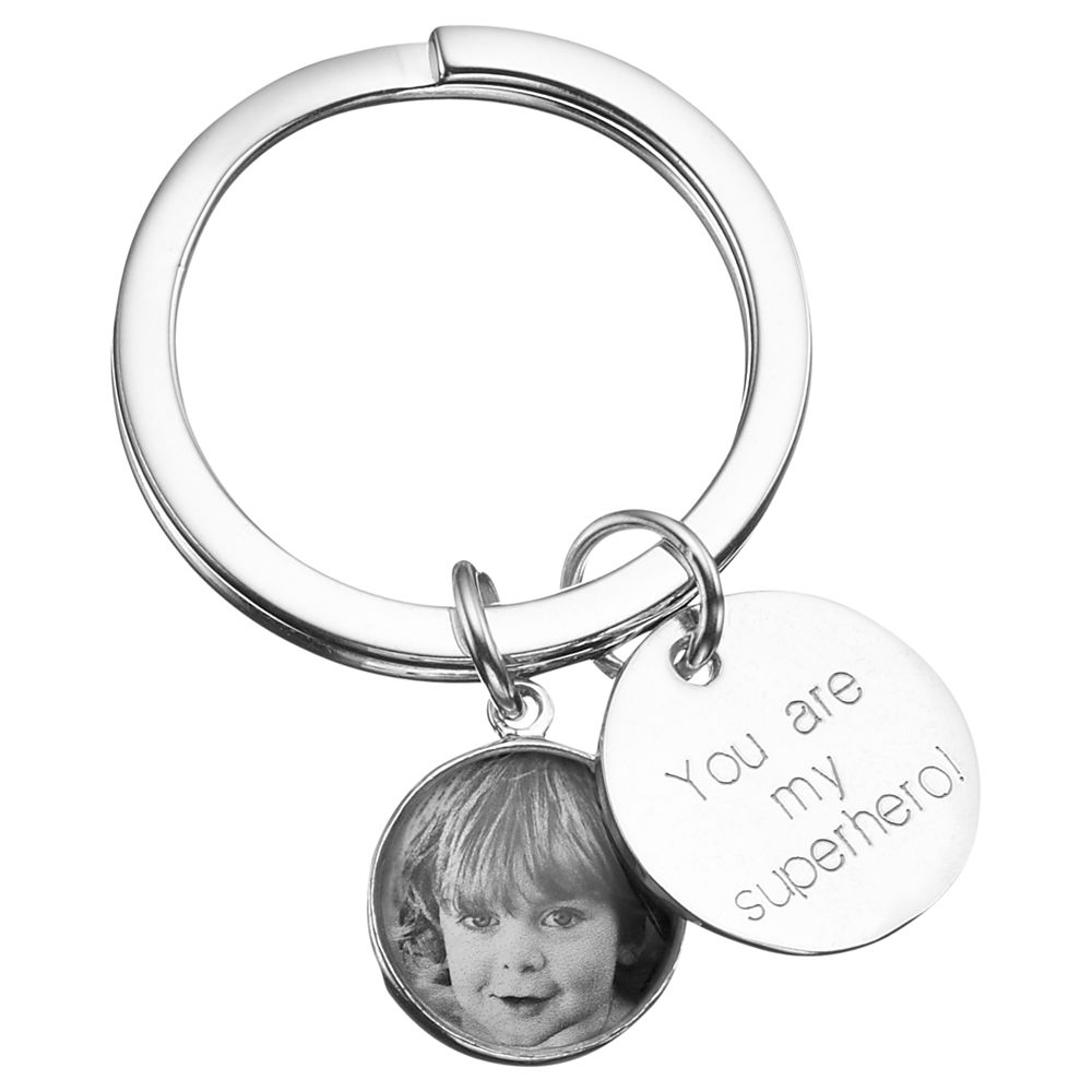 Under The Rose Under the Rose Personalised Message Tag Fob Keyring, Small