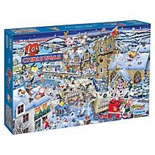 Buy Gibson & Son I Love Christmas 1000 Piece Jigsaw Puzzle Online at johnlewis.com