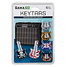 Buy Active Keytars, Pack of 6 Online at johnlewis.com