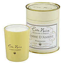 Buy Cote Noire Pomme D'Ambre Scented Votive Jar Online at johnlewis.com