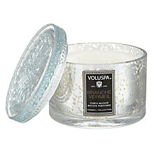 Buy Voluspa Branche Vermeil Scented Candle Online at johnlewis.com