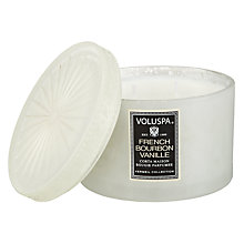 Buy Voluspa French Vanilla Scented Candle Online at johnlewis.com