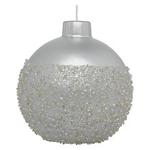 Buy John Lewis Beaded Bauble Candle Online at johnlewis.com