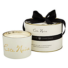 Buy Cote Noire Reine De La Nuit Scented Candle Jar Online at johnlewis.com