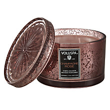 Buy Voluspa Champagne Rose Scented Candle Online at johnlewis.com