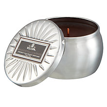 Buy Voluspa Ebony & Peach Tin Scented Candle Online at johnlewis.com