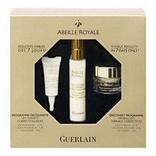 Buy Guerlain Abeille Royale Skincare Serum Set Online at johnlewis.com