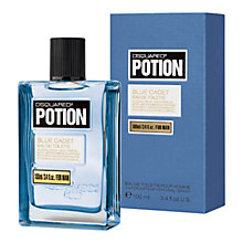 Buy Dsquared² Potion Blue Cadet For Men Eau de Toilette Online at johnlewis.com