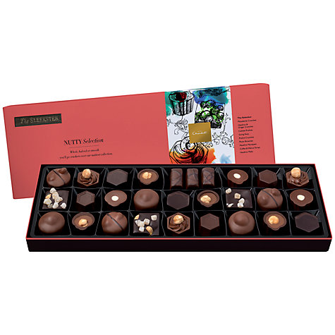 Buy Hotel Chocolat Sleekster Nutty Chocolate Selection, 370g Online at johnlewis.com