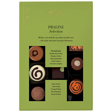 Buy Hotel Chocolat The H-Box Praline Selection, 170g Online at johnlewis.com