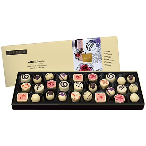 Buy Hotel Chocolat Sleekster White Chocolate Selection, 335g Online at johnlewis.com