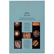 Buy Hotel Chocolat Milk Chocolate Oblivion H Box, 160g Online at johnlewis.com