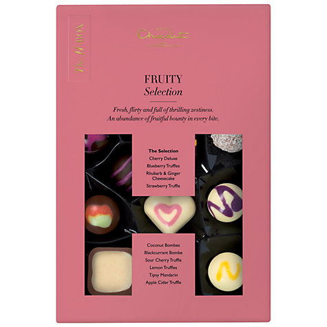 Buy Hotel Chocolat The H-Box Fruity Selection, 160g Online at johnlewis.com
