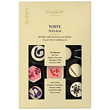 Buy Hotel Chocolat The H-Box White Selection, 170g Online at johnlewis.com