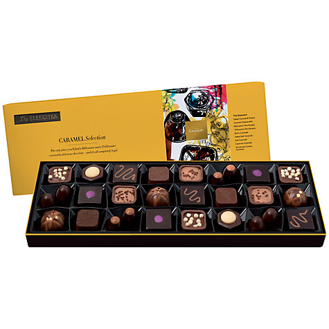 Buy Hotel Chocolat Caramel Sleekster Chocolates, 305g Online at johnlewis.com