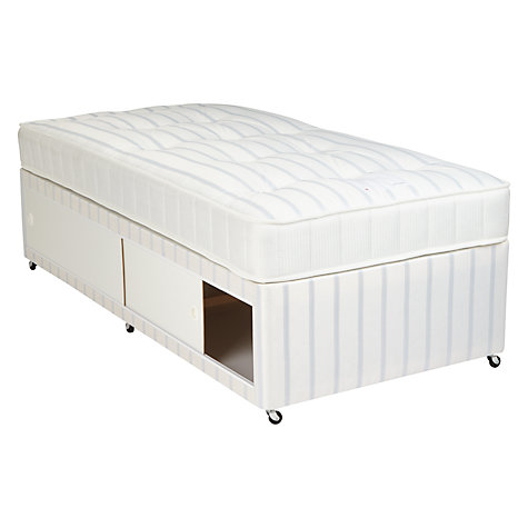 Buy John Lewis Special Open Slide Spring Divan Set, Single Online at johnlewis.com