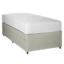 Buy John Lewis 1000 Pocket Memory Divan Set, Single Online at johnlewis.com