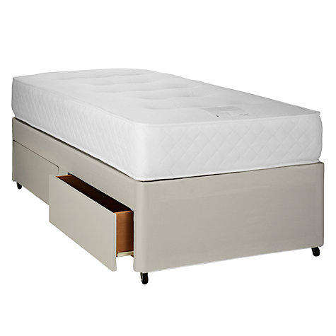 Buy John Lewis Special 1000 Pocket Memory Divan Set, Single Online at johnlewis.com