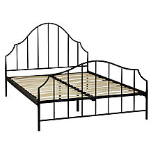 Buy John Lewis Portman Metal Bedstead, Black, Kingsize Online at johnlewis.com