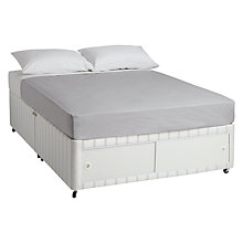 Buy John Lewis Special Open Slide Spring Divan Set, Double Online at johnlewis.com