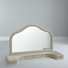 Buy John Lewis Rose Dressing Table Mirror, Ivory Online at johnlewis.com