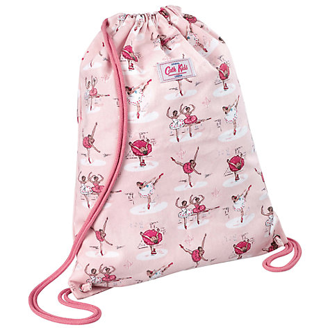 Buy Cath Kidston Ballerinas Drawstring Bag, Pink Online at johnlewis.com