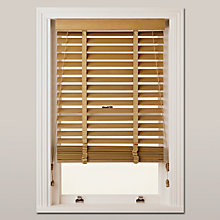 Buy John Lewis FSC Wood Venetian Blind, 50mm Online at johnlewis.com