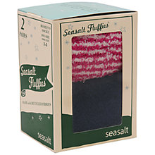 Buy Seasalt Fluffies Socks, Pack of 2, Multi Online at johnlewis.com