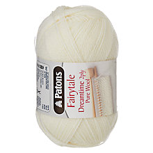 Buy Patons Fairytale Dreamtime 2 Ply Baby Yarn Online at johnlewis.com