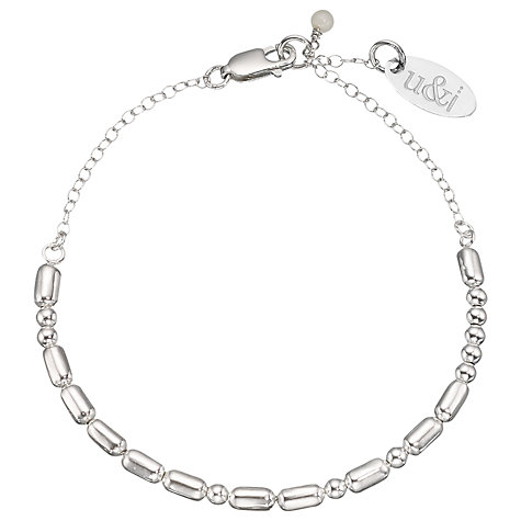 Buy Between You and I Personalised Love Morse Code Bracelet Online at johnlewis.com