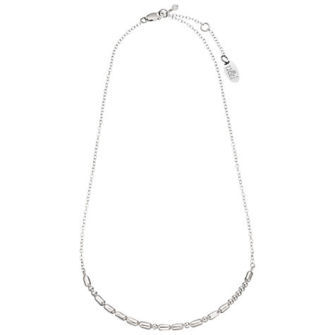 Buy Between You and I Personalised Morse Code Necklace Online at johnlewis.com