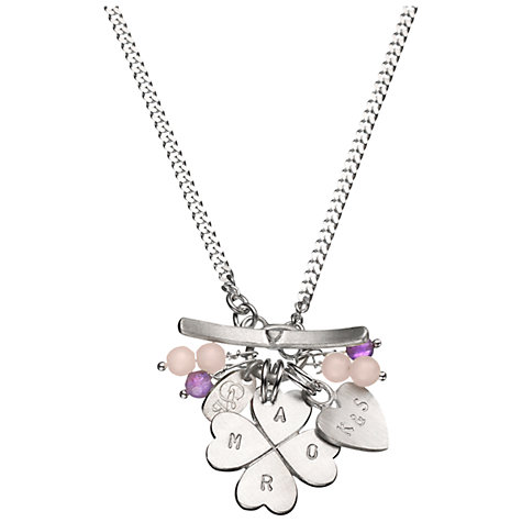Buy Chambers & Beau Personalised Amor Necklace Online at johnlewis.com