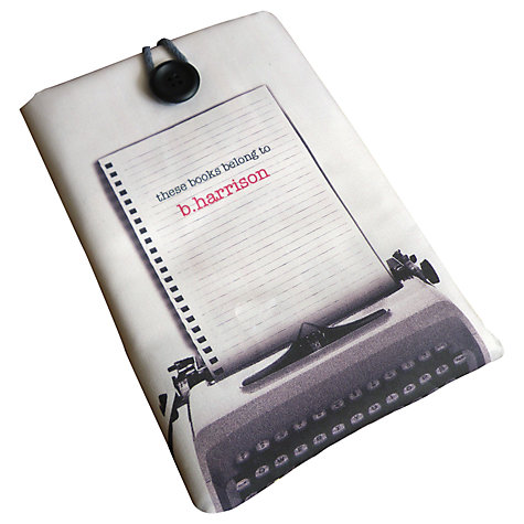 Buy Letterfest Personalised Kindle Cover Online at johnlewis.com