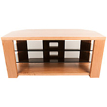 "Buy Optimum Bench 1200 TV Stand for up to 55"" TVs, Oak Online at johnlewis.com"