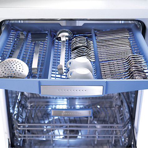Buy Bosch SMS69L32GB Dishwasher, White Online at johnlewis.com