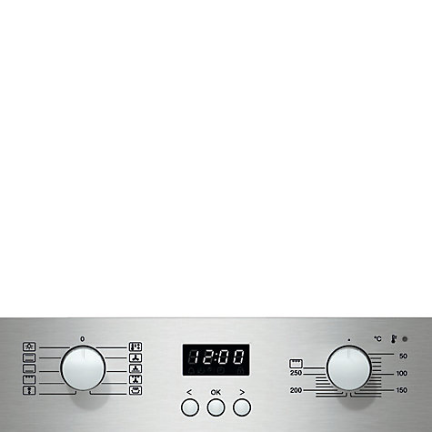 Buy Miele H2361B ContourLine Single Electric Oven, Clean Steel Online at johnlewis.com