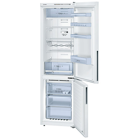 Buy Bosch KGN39VW31G Fridge Freezer, A++ Energy Rating, 60cm Wide, White Online at johnlewis.com