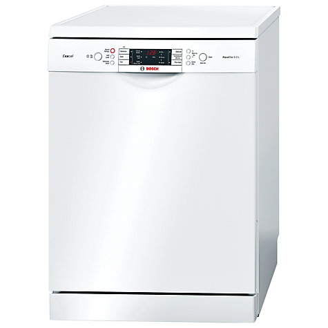 Buy Bosch SMS65E32GB Freestanding Dishwasher, White Online at johnlewis.com