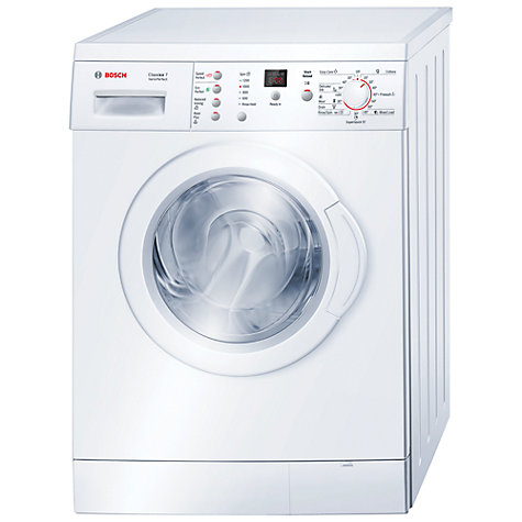 Buy Bosch Classixx WAE24369GB Washing Machine, 7kg Load, A+++ Energy rating, 1200rpm Spin, White Online at johnlewis.com