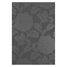 Buy John Lewis Rose Damask Wallpaper, Steel Online at johnlewis.com