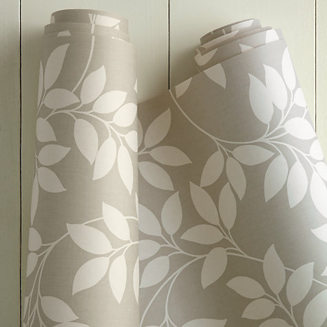 Buy John Lewis Leaf Trail Wallpaper Online at johnlewis.com
